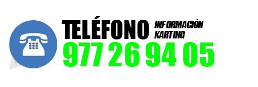 TELÉFONO ELECTRIC KARTING SALOU 977 26 94 05