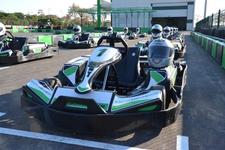 Electric Karting Salou - Place port aventura pas cher